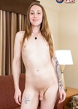 After outdoors fun, Teaka Mesitas is back in her hotel room ready to show us everything she got! Watch her posing and playing with her cock!
