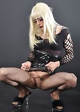 Zoe looks fucking gorgeous with her blonde hair and big cock